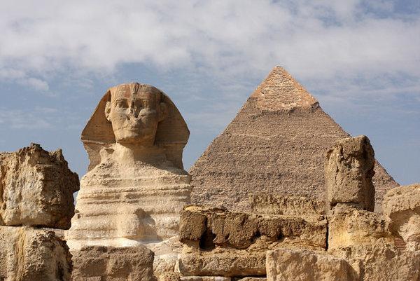 Ilustračné foto. Podobizeň leva je zachytená aj v soche Veľkej sfingy v Gíze. Má telo mačkovitej šelmy a hlavu človeka.