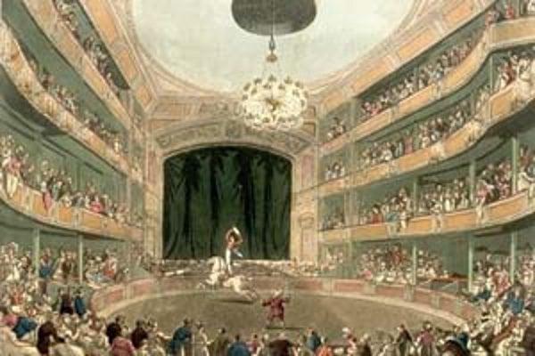 Historické korene cirkusu sa spájajú so starovekým Rímom. V polovici 18. storočia ho znovuoživil Phillip Astley. Na snímke je jedno z prvých vystúpení Astleyho cirkusu.