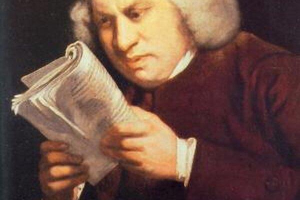 Samuel Johnson mal problémy so zrakom.