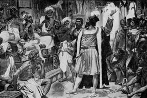 Vasco da Gama našiel cestu do Indie.