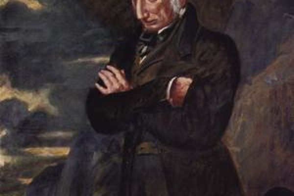 William Wordsworth v roku 1842.