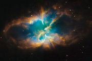 Planetárna hmlovina NGC 2818.
