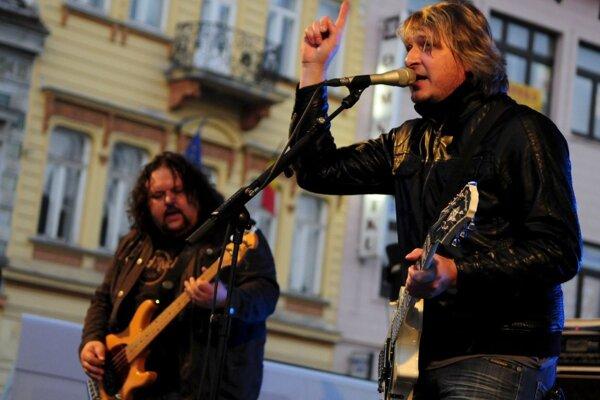 Na koncerte sa predstaví aj skupina Gladiátor.