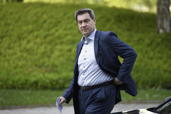 Novým predsedom CSU sa stal Markus Söder