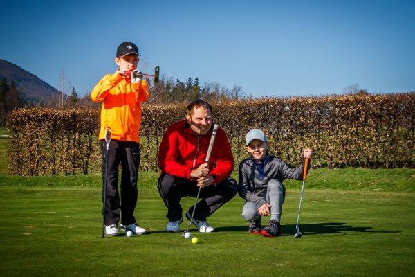 Príďte sa presvedčiť, že golf je hra pre všetkých.