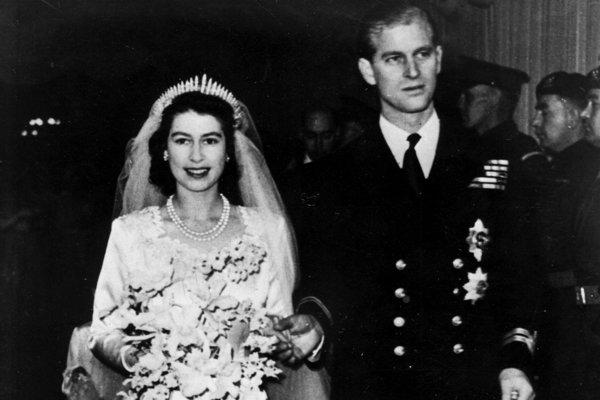 Svadba 21-ročnej princeznej Alžbety a 26-ročného poručíka Philipa Mountbattena, princa gréckeho a dánskeho sa konala 20. novembra 1947 vo Westminsterskom opátstve.