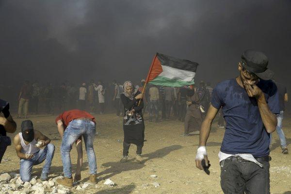 Pri zásahu izraelskej armády zomreli v Pásme Gazy dvaja palestínski militanti