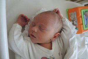 Katarína Ochranová (3280g, 50cm) sa narodila 6. mája Kataríne a Jurajovi z Dubnice nad Váhom. Doma na ňu čaká 3-ročný Jurko.