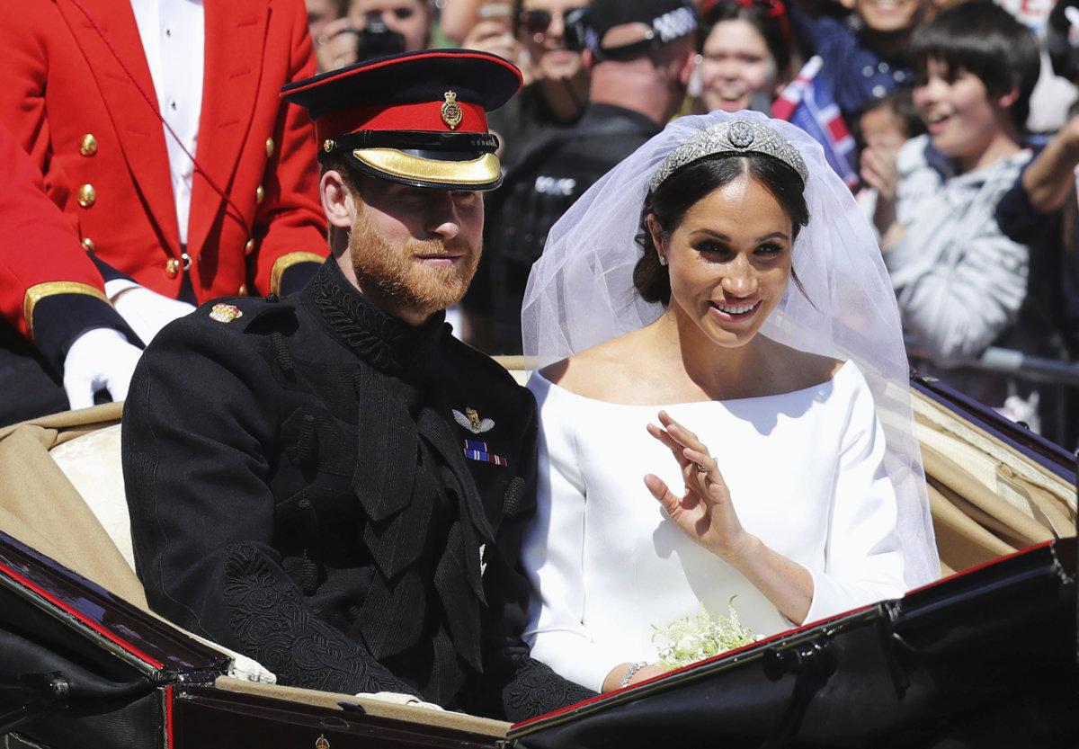 11ccd837b071 Svadba princa Harryho a Meghan Markleovej (online) - Žena SME