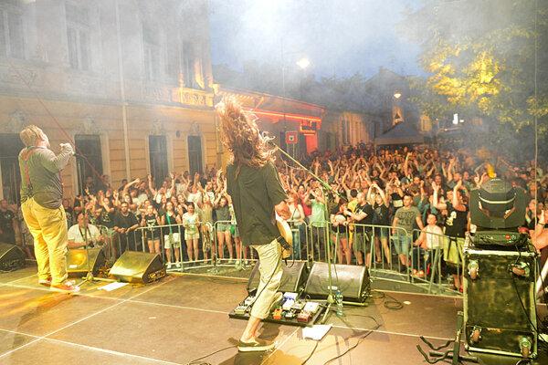 Festival priamo v centre mesta.