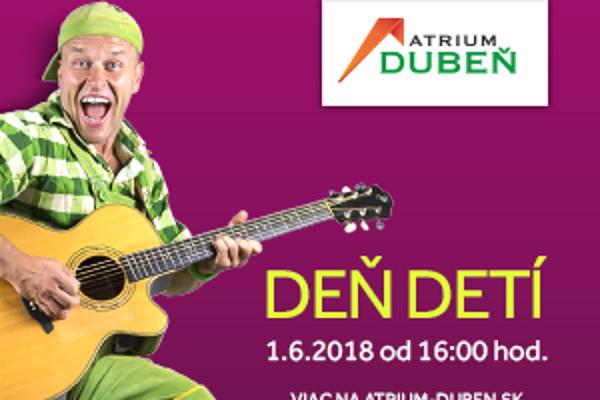 Na Deň detí v obchodnom centre Atrium Dubeň príde aj Zahrajko.