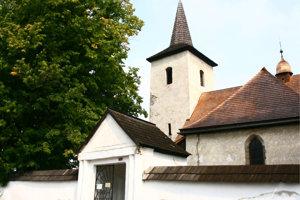 Ludrovský kostol Všechsvätých