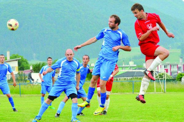 Turčianske Teplice po prvom polčase v Necpaloch prehrávali, no po zmene strán duel otočili.