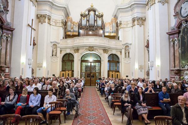 Koncerty budú v Piaristickom kostole sv. Ladislava.