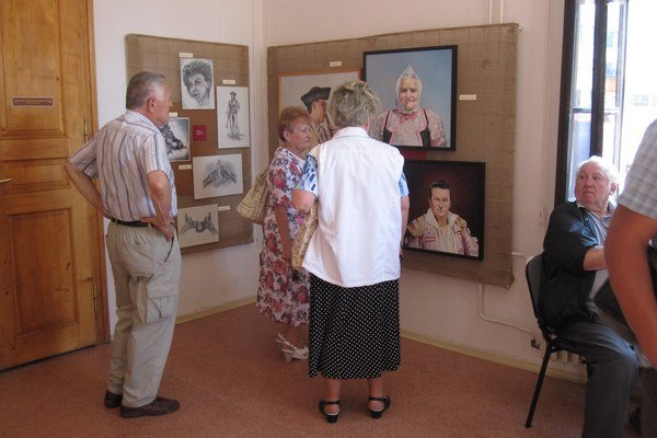 Výstava otvorila festival.