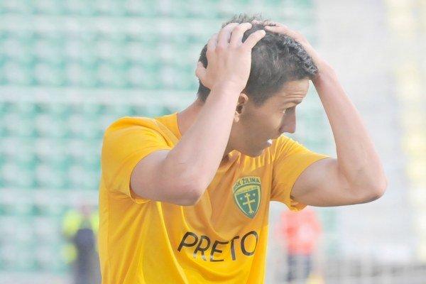 Jakub Paur dosiaľ obliekol žilinský dres v 129 zápasoch.