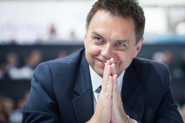 Minister finacií Peter Kažimír.