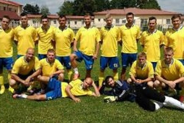 Víťaz turnaj Slovan Bolešov.