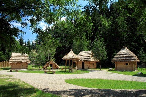 Stredoveká dedinka Paseka.