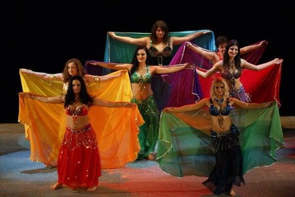 Kurzistky orientálneho tanca Mony Abir.