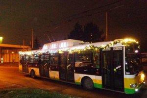 Vianočný trolejbus