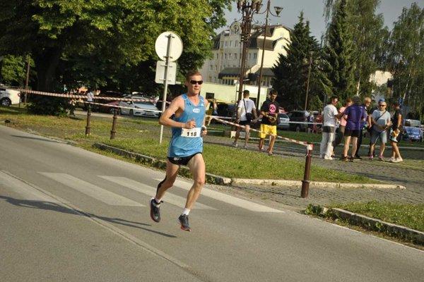 Víťazný Jozef Urban na trati.