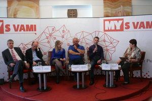 Diskusné fórum pod záštitou MY Turčianskych novín.