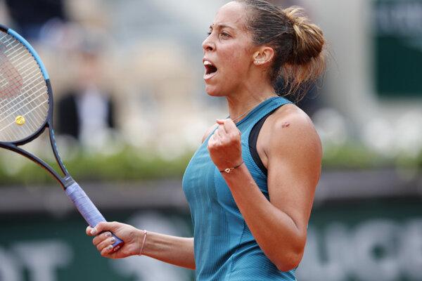 Madison Keysová postúpila na Roland Garros 2018 do semifinále.