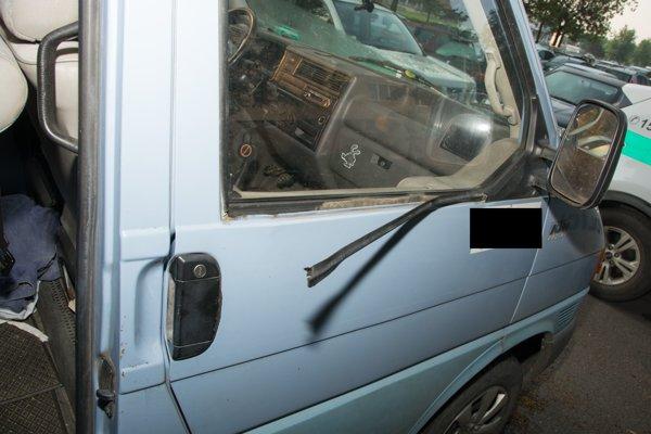 Jeden z prípadov vykradnutých áut.