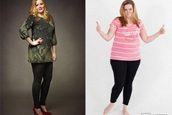 Majka Šviedová znížila v súťaži počas desiatich týždňov chudnutia svoju hmotnosť o 13,7 kg.