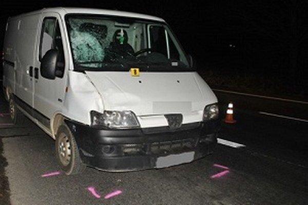 Vozidlo, ktoré spôsobilo nehodu.