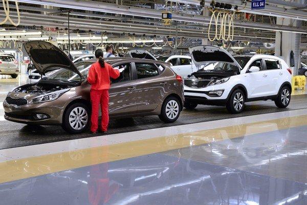 Kia Motors Slovakia v Žiline vyrába veľmi úspešné modely Kia cee´d a Kia Sportage.