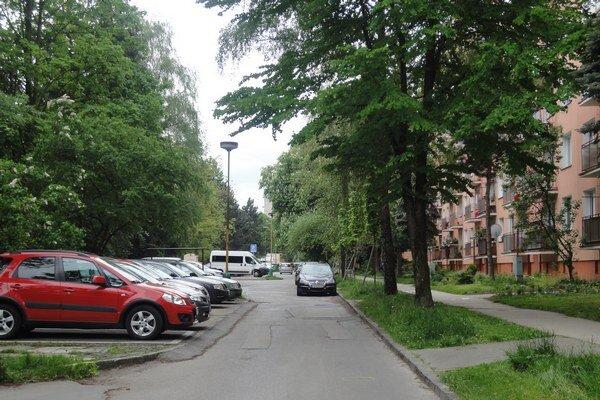 Bajzová ulica.