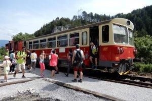 Korytnická železnica po rokoch ožila.