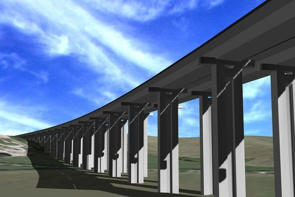Vizualizácia nového úseku. S výstavbou sa začne v roku 2015.