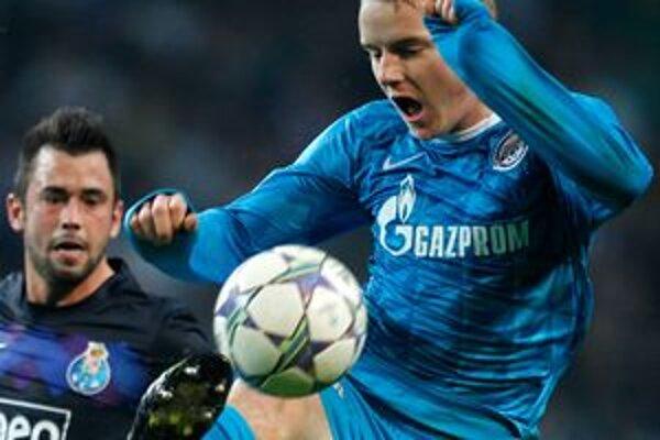 Tomáš Hubočan si so Zenitom vybojoval na pôde Porta postup do osemfinále Ligy majstrov.