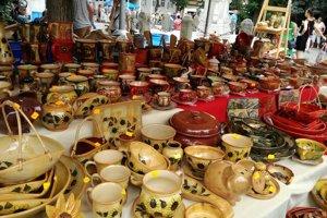 Keramické trhy v Pezinku