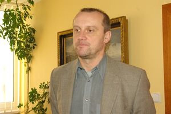 Vedúci žilinského Krajského strediska integrovaného záchranného systému Miroslav Bobčík.