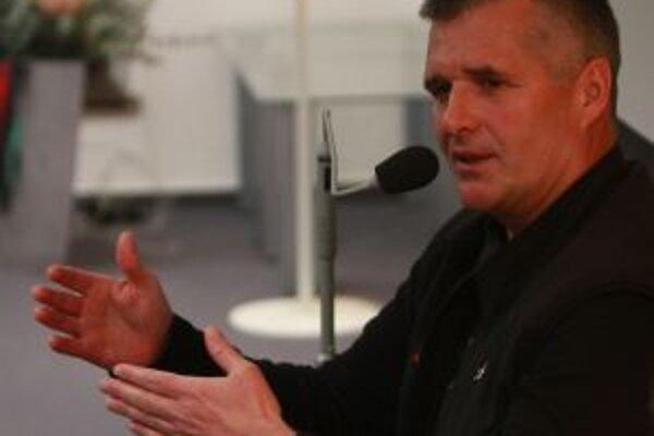 Pavol Barabáš v Nadácii Polis.