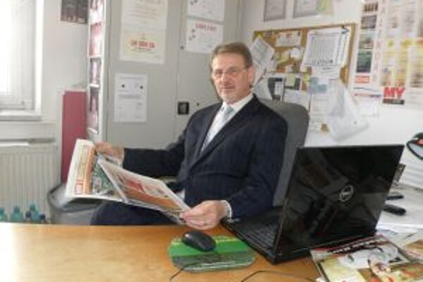 Martin Fronc navštívil minulý týždeň redakciu MY Žilinských novín.