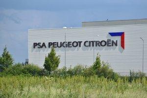 Výrobný závod PSA Peugeot Citroën v Trnave.