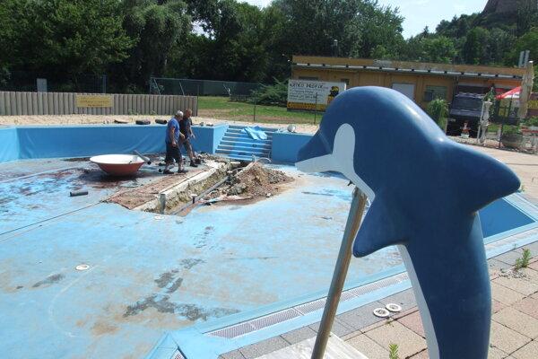 Detský bazén.