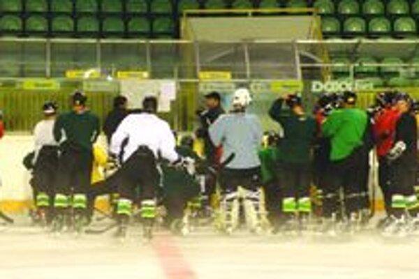 Hokejisti MsHK Žiliny na prvom tréningu v tejto sezóne.