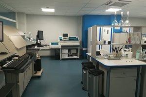Nové priestory laboratórií a hematologického oddelenia VšNsP v Lučenci