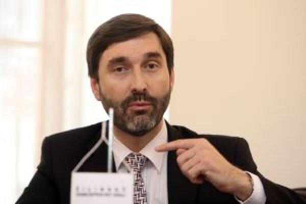 Predseda ŽSK Juraj Blanár.