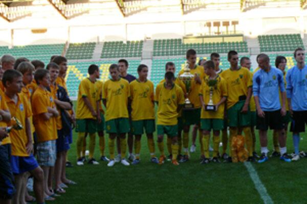 MŠK Žilina - víťazi turnaja o pohár Marka Mintála.