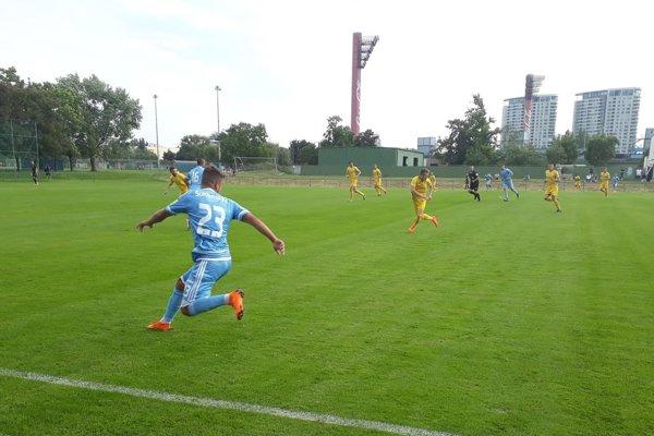 Slovanu podľahlo Pohronie 2:0.