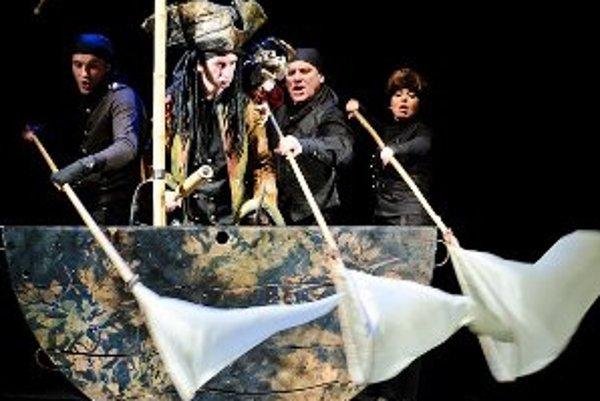 Inscenácia Peter Pan mala premiéru koncom minulej sezóny.