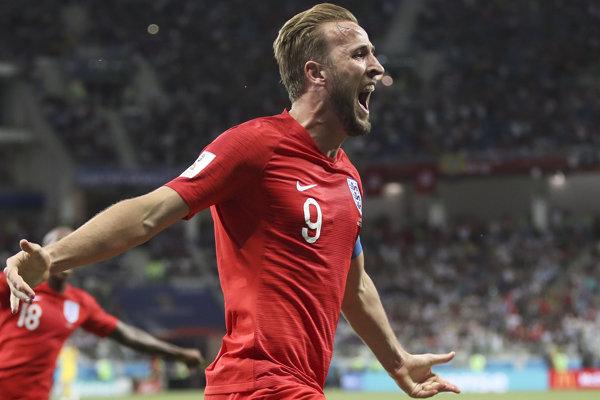 Harry Kane v reprezentačnom drese Anglicka.