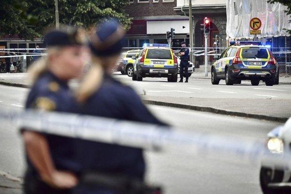 Jeden z mnohých prípadov kriminality v Malmö.